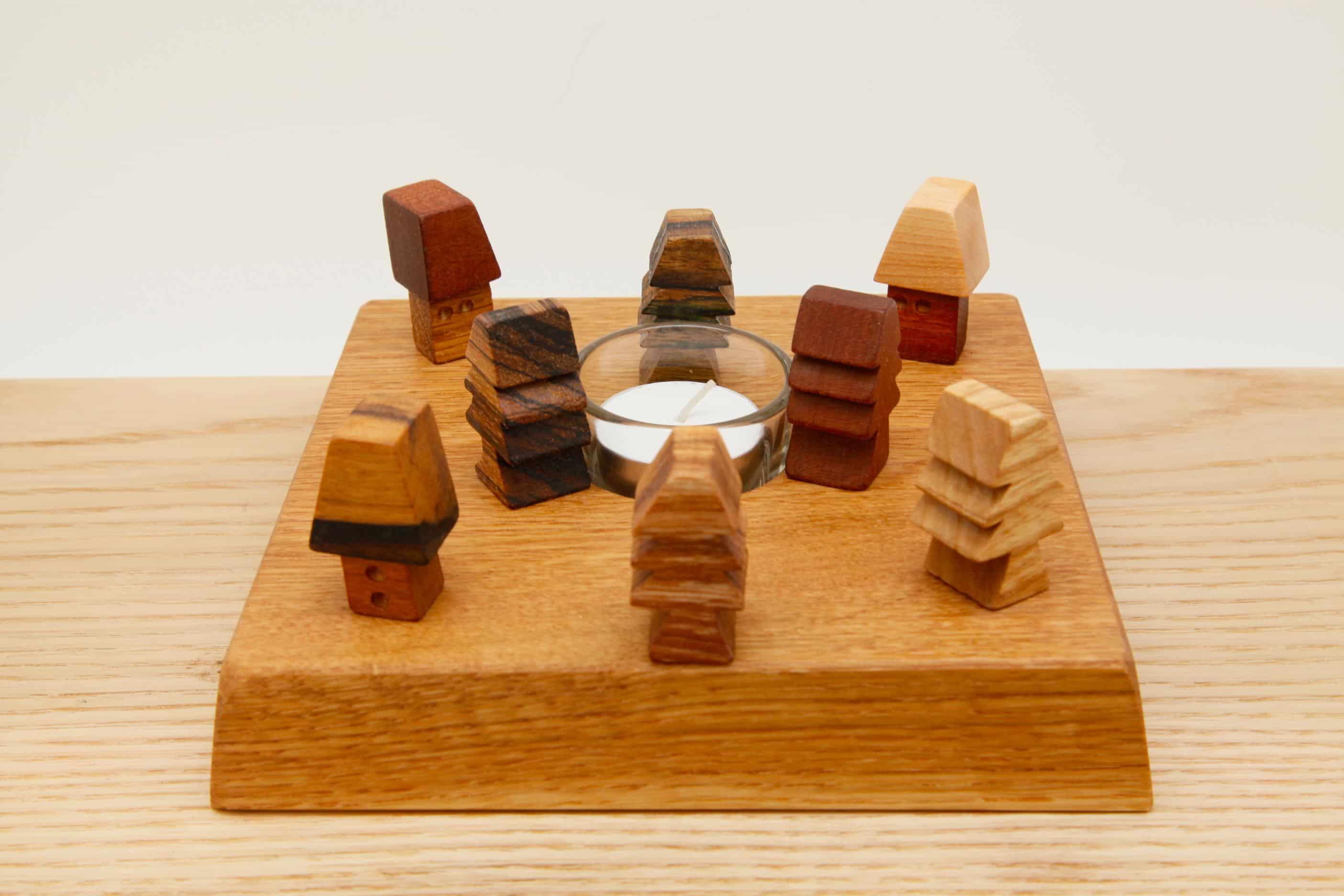 木の雑貨 ティーウォーマー オーク