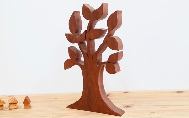 木のオブジェ雑貨・インテリアツリー ウォルナット
