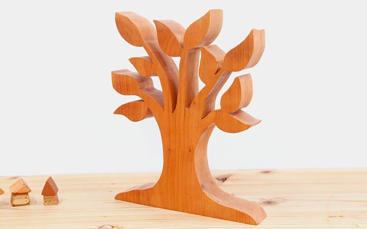 木のオブジェ雑貨・インテリアツリー チェリー