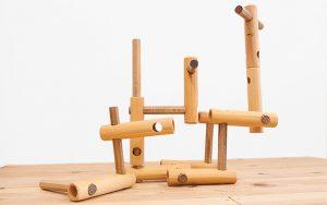 木のおもちゃ 知育ブロック スレンダーブロック