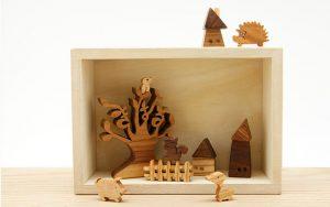 お名前ツリー(オーダーメイド) 日本製の木のインテリア【出産祝い・誕生日祝い】
