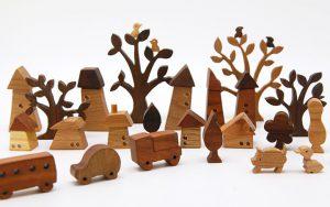 うとぴれすと 木のインテリア雑貨 大人も楽しく飾って遊ぶ【日本製・贈り物ギフト】