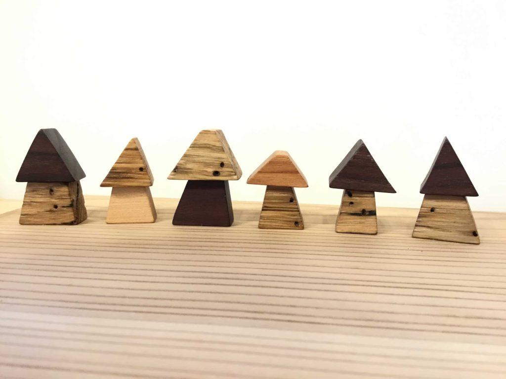 木のおもちゃ arumitoy 雑貨 ナラ枯れ 森